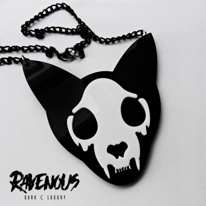 Colar Skull Cat (0)